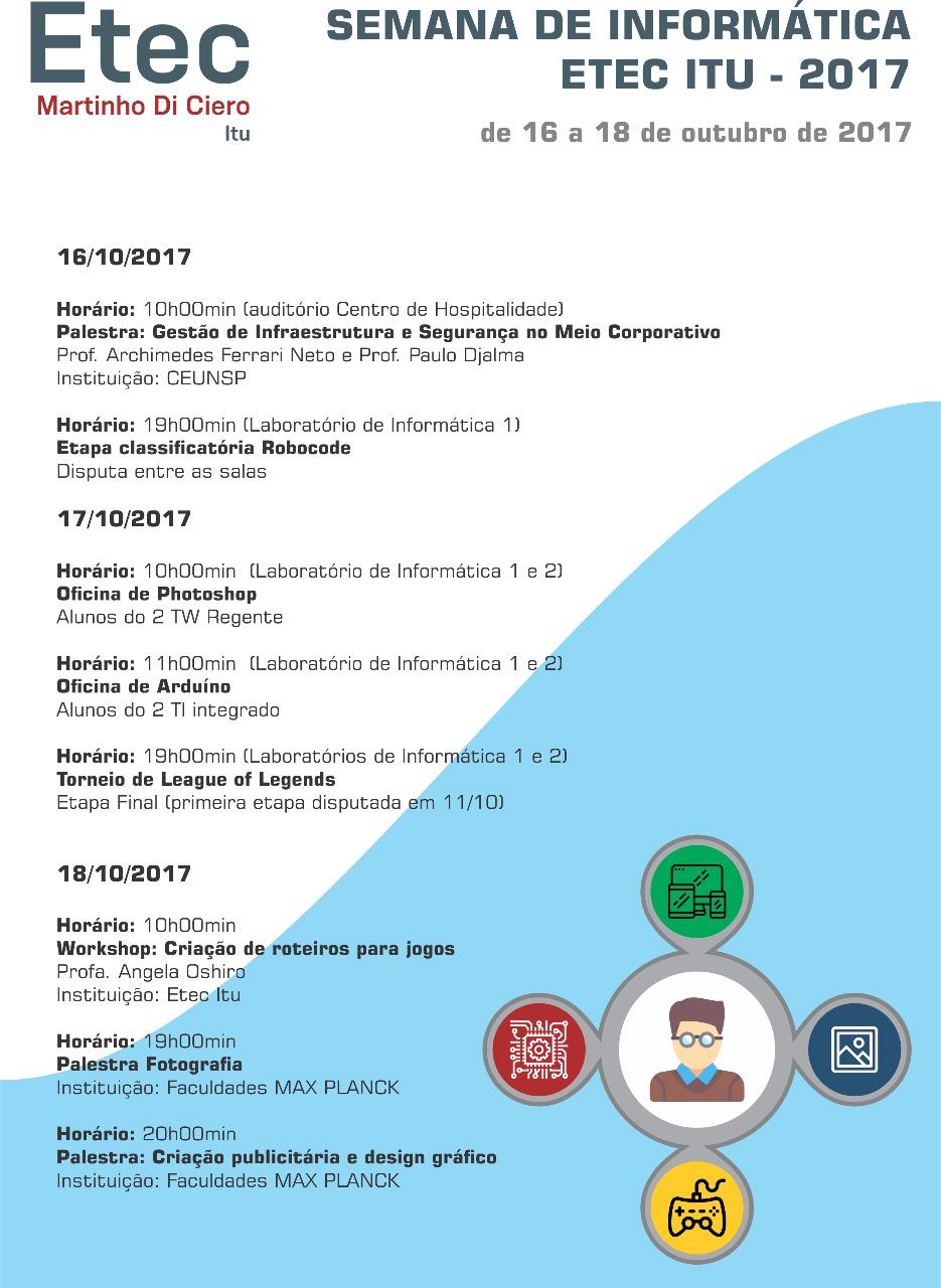 Encerramento da Semana Técnica de Informática