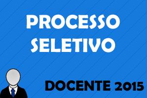 Convocação para Processo Seletivo 2015
